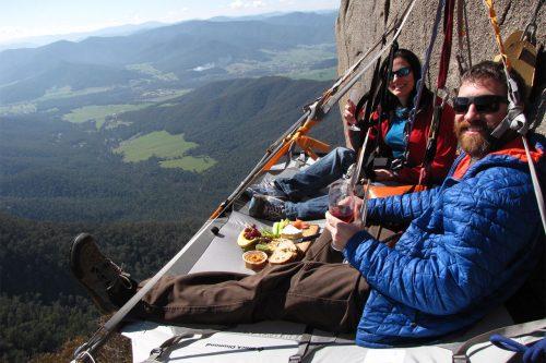 cliff picnic